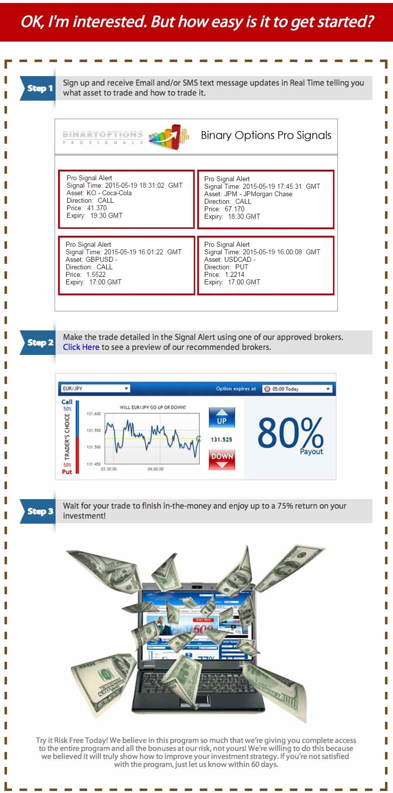Binary option pro signals review